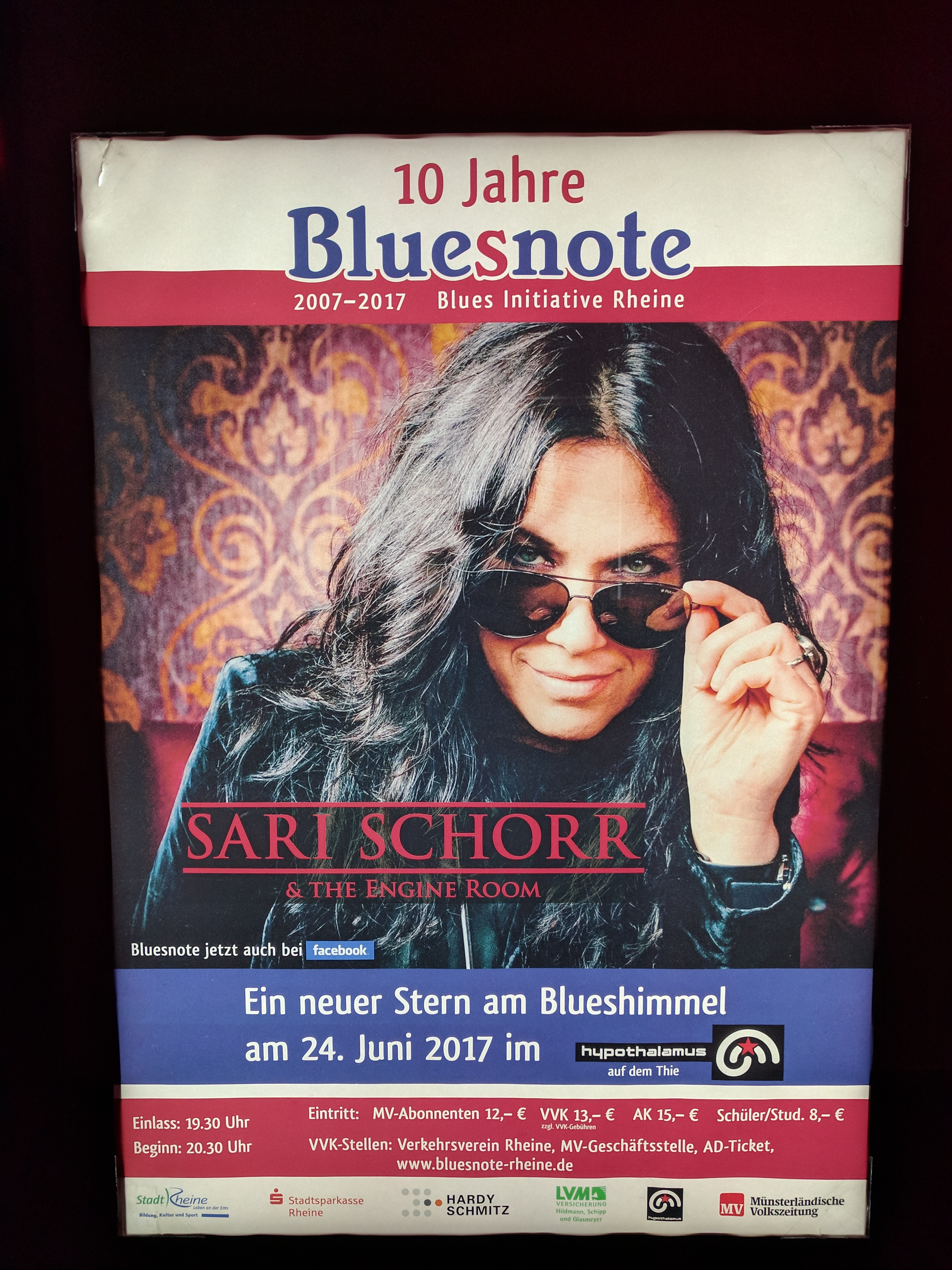 24 juni sari schorr im hypothalamus bluesfreunde. Black Bedroom Furniture Sets. Home Design Ideas